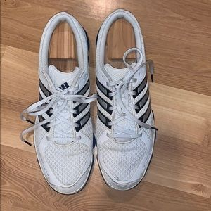 Adidas non-markings running shoes white size 13